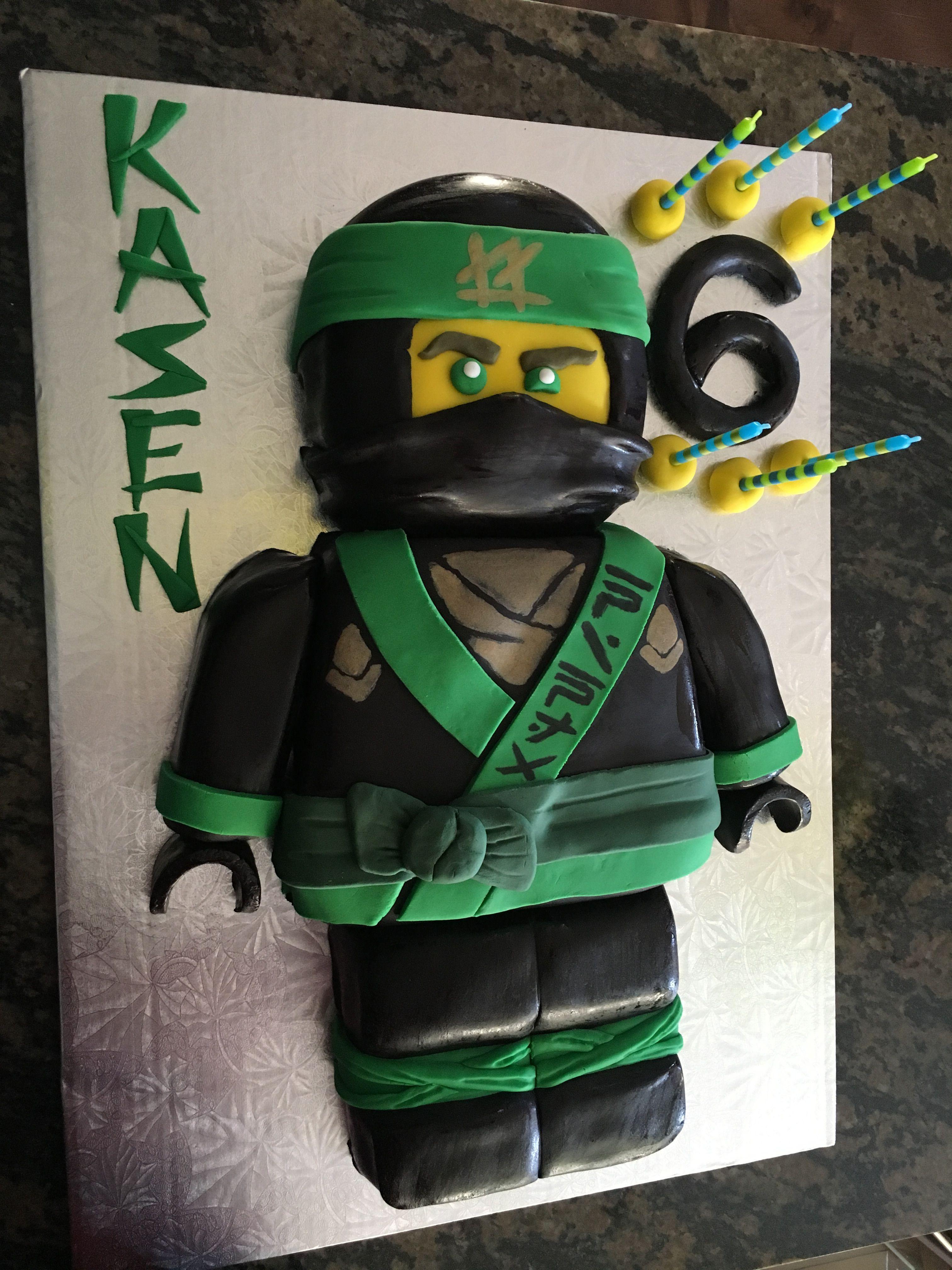 Lloyd Ninjago Cake