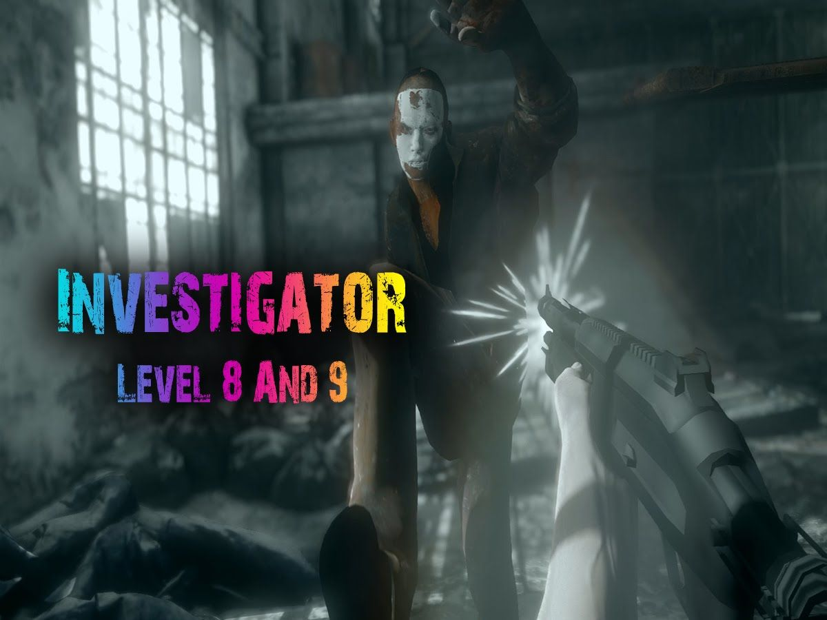 Take Cover Noob | Lets Play Investigator | level 8 & 9