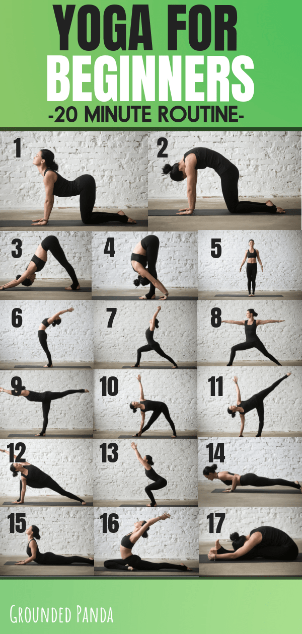 The 20 Minute Yoga Routine Every Beginner Needs + Free PDF #healthandfitness