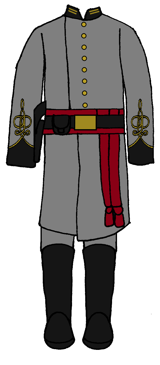 Confederate First Lieutenant Medical