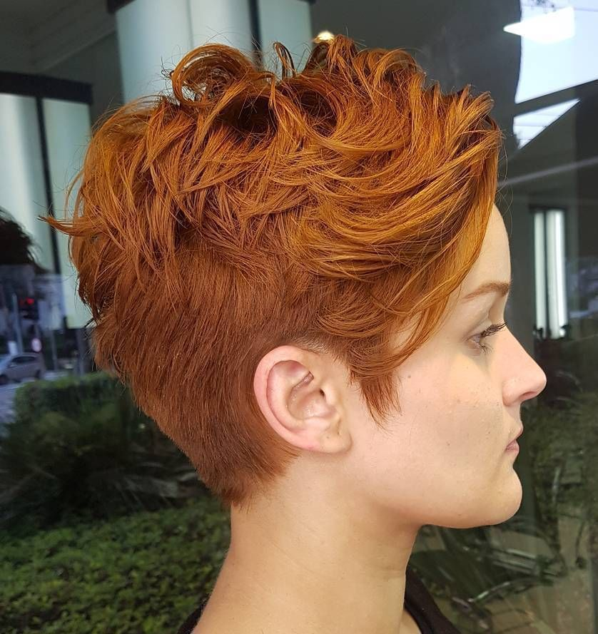 Ginger Pixie Undercut Kapsels