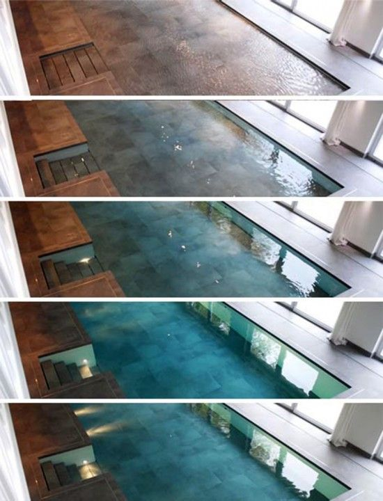 Secret Room- Indoor Swimming Pool. I\'m sure this is the world\'s most ...