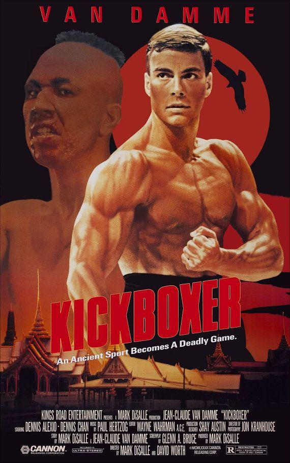 Kickboxer Protagonizada Por Jean Claude Van Damme Display Peliculas De Artes Marciales Mejores Carteles De Peliculas Afiche De Pelicula