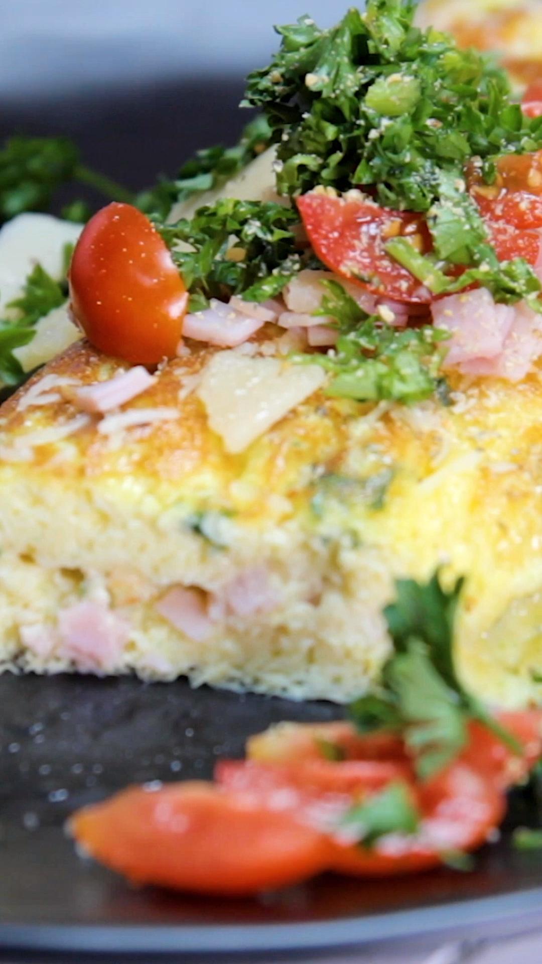 Schinken-Käse-Omelett – Carey&CleanEatingS