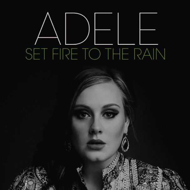 Set Fire To The Rain Ukulele Tab Adele The Rain Lyrics Music Hits