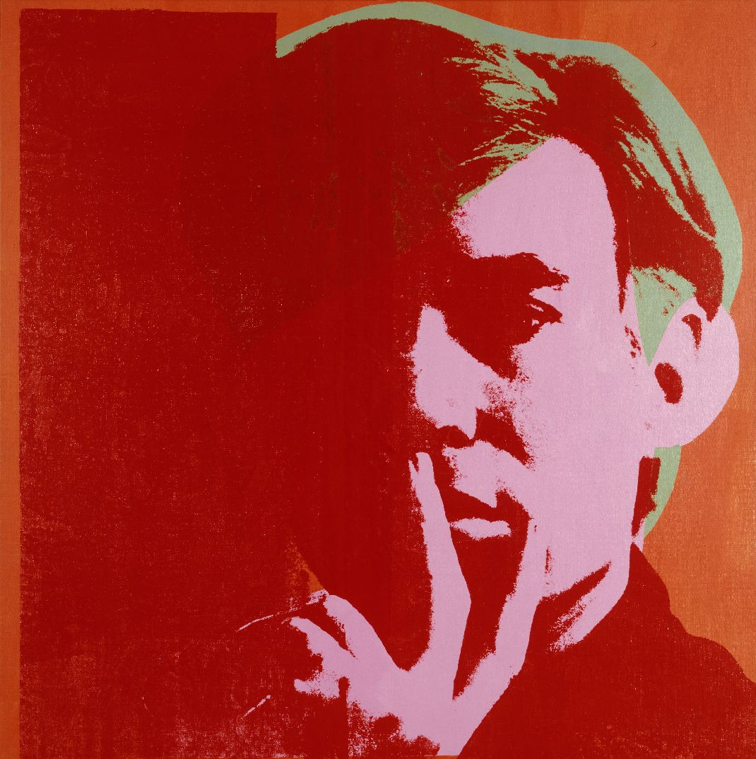 Andy Warhol (1928 - 1987), Self-Portrait, 1967 | andy warhol ...