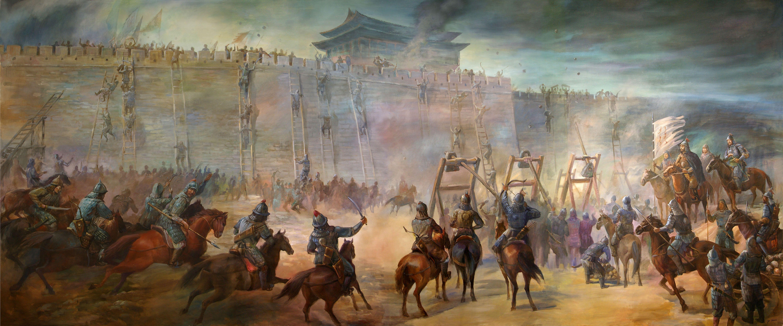 蒙古人和西夏和金果国家
