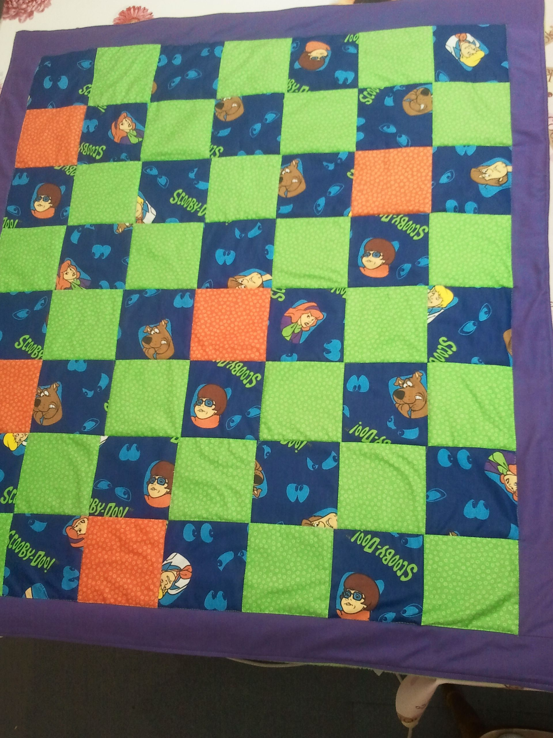 Scooby Doo Wheelchair Blanket For Fifteen Year Old With Images