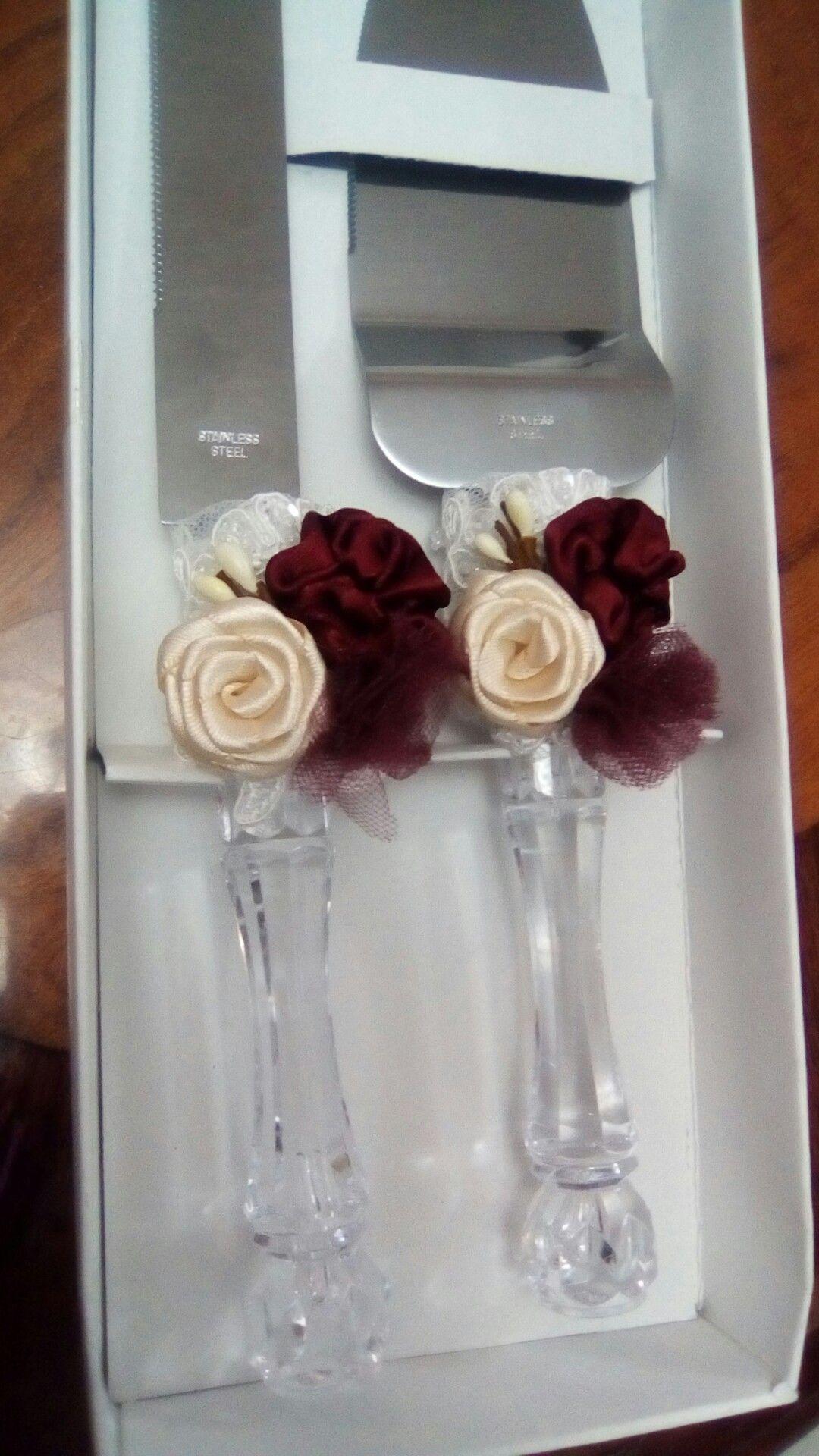 Decorado de pala y cuchillo boda de lili uc decoracion pinterest