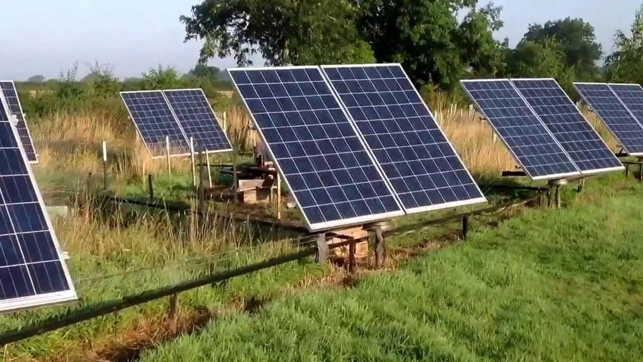 Solar Tracker4kw Array Home Made With Cheap Components Energy Circuit