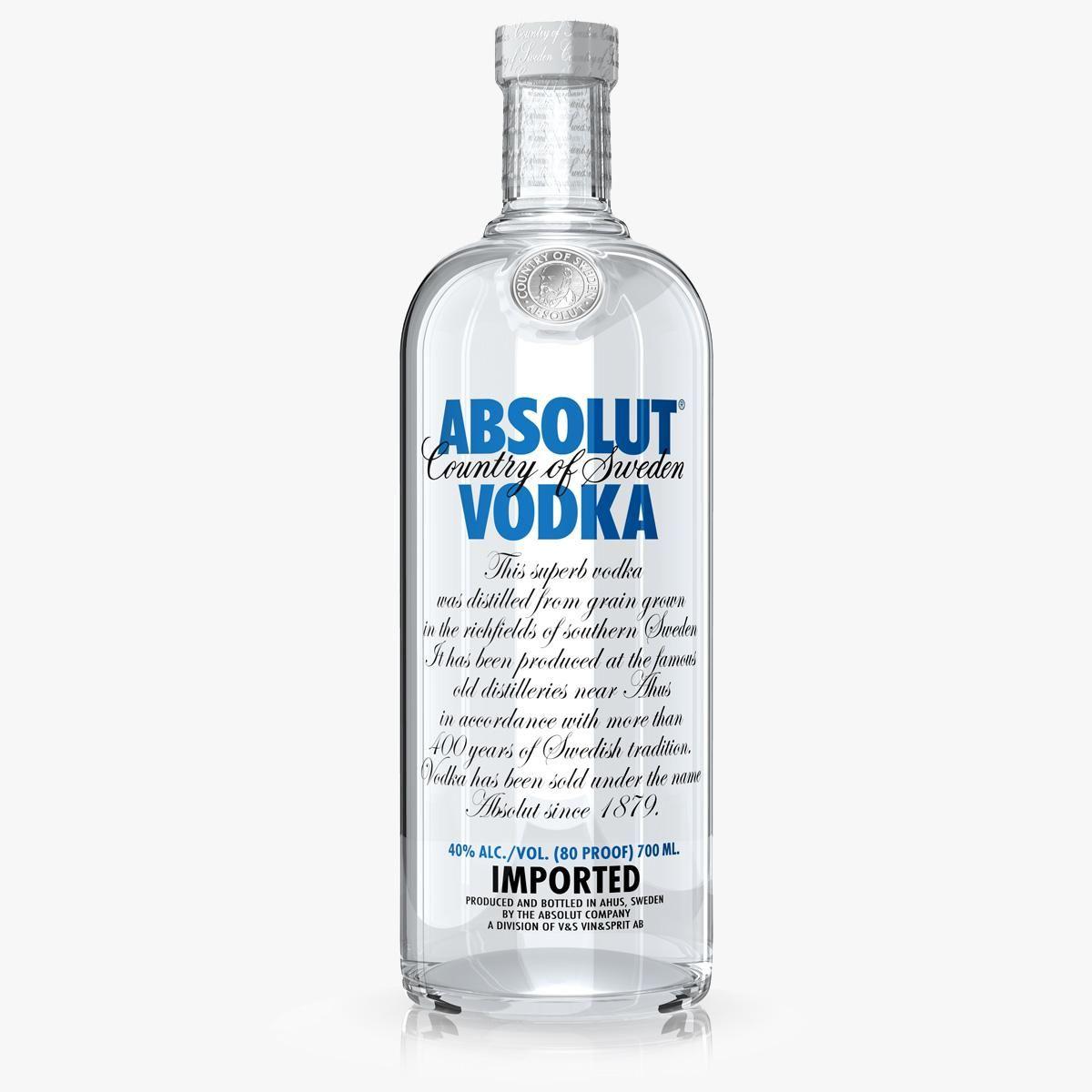 Absolut Vodka 3D Model #AD ,#Absolut#Vodka#Model