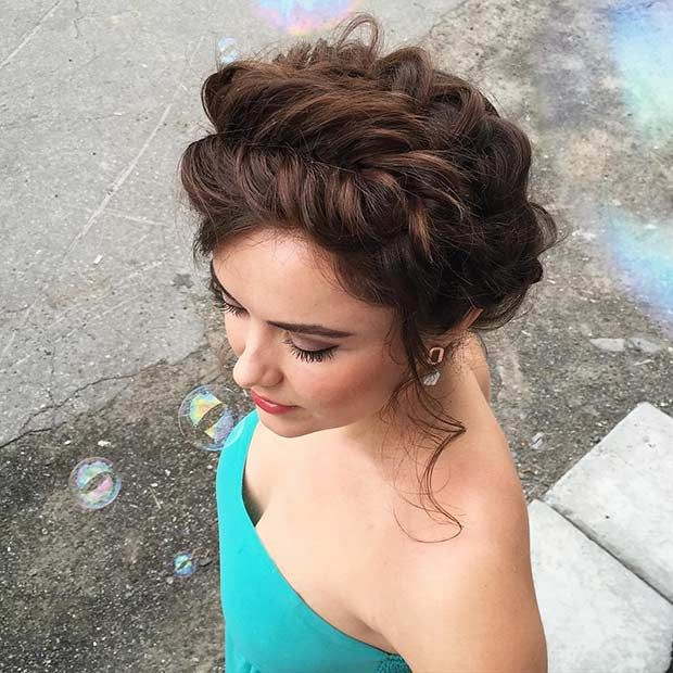 Gorgeous Updos For Bridesmaids Milkmaid Braid Fishtail And Updo - Diy hairstyle knotted milkmaid braid