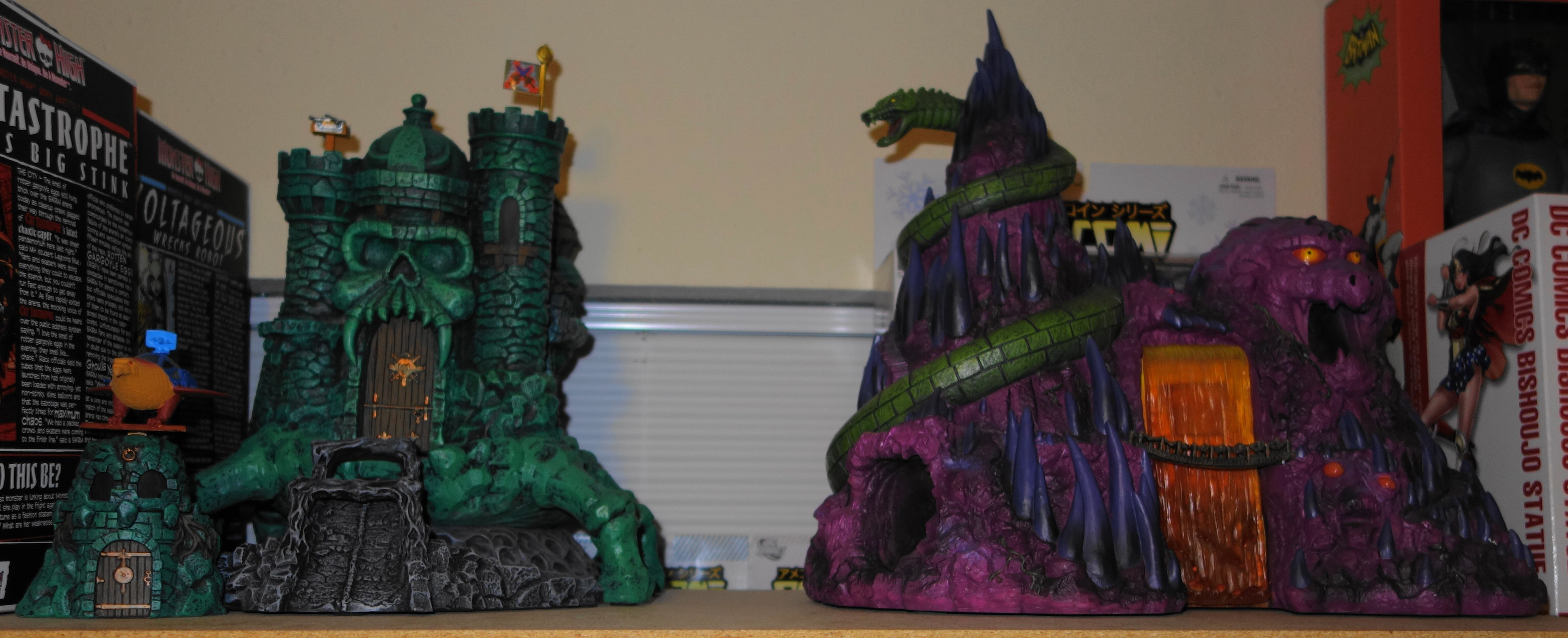ICON Heroes Castle Grayskull, Grayskull Accesory Kit, and ...
