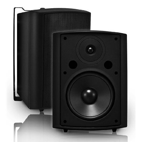 Polk Audio Atrium 4 Outdoor Speakers Pair White Outdoor Speakers Pool Decks Patio