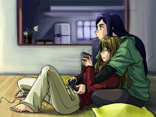 The Couple Who Games Together Stays Anime Couples Cartoon Manga