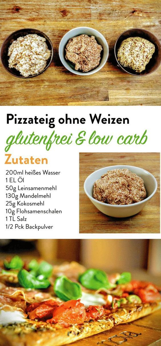 Pizzateig ohne Weizen - Choose Your Level™ #flaxseedmealrecipes