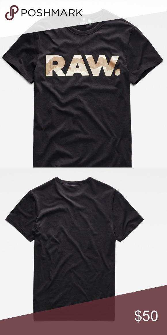 G Star Raw T Shirt Straight Fit Round Neck Ribbed Short Inset Sleeves Straight Hem G Star Raw Logo At Chest Tab Branding Caug Mens Tops Mens Shirts Tee Shirts