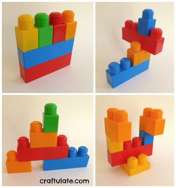 Copying Patterns with Building Blocks | Building blocks, Building ...