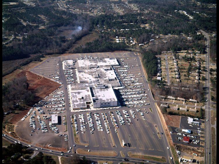Flashback fotos atlanta from above december 1965
