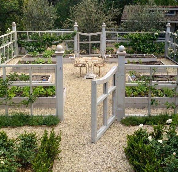 Kaninchen Konnen Ihren Garten Mit Einem Dekorativen Zaun So Beschichten Gartenzaun Ideen Erhohte Beete Kies Terrasse