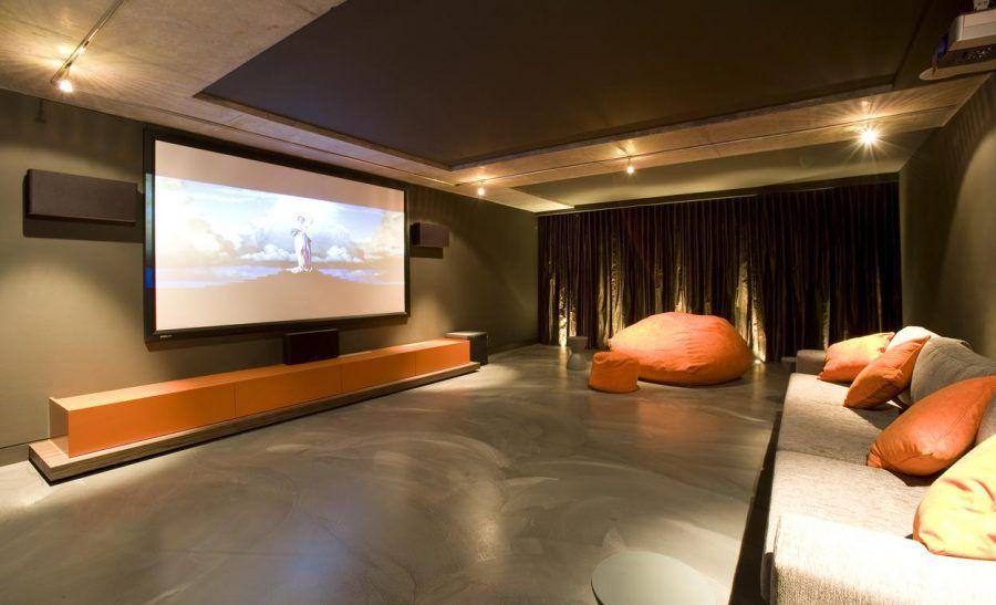 Stunning Modern Home Theater | Best Home Theater Design Ideas ...