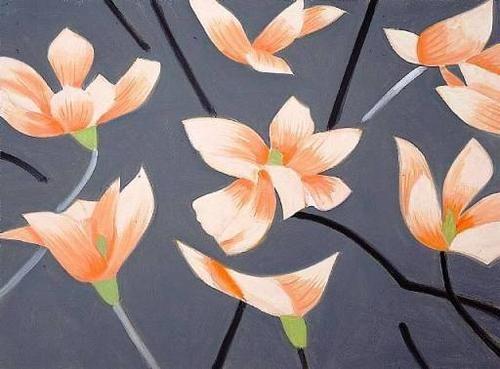 Magnolia by ALEX KATZ.