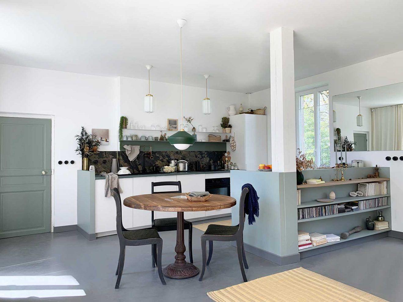 Final Report La Cuisine Table En Chene Amenagement Interieur