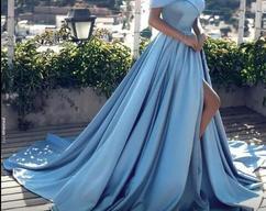 Photo of Prom Dress Prom Dress,Black And Blue Prom Dress