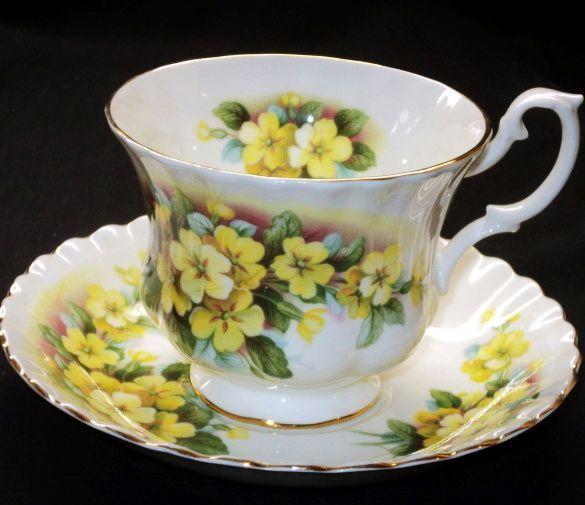 Royal Albert Yellow Primrose