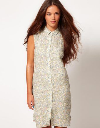 River Island Ditsy Shirt Dress