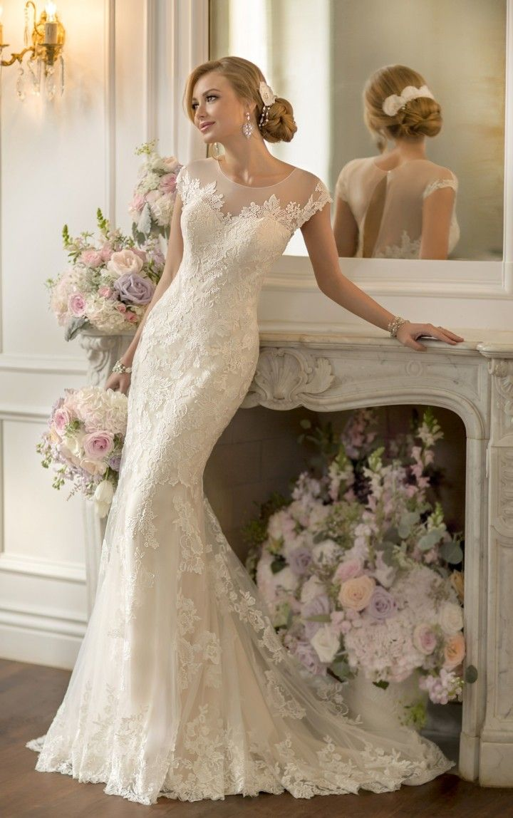 Flattering wedding dresses for plus size  The Most Flattering Wedding Dresses  Wedding  Pinterest  Vestidos