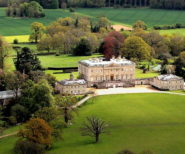 Royal George Hotel Birdlip Gloucestershire: Aerial View Of Kirtlington Park