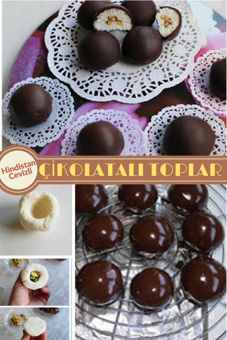 Çikolata Kaplı Cevizli Kek