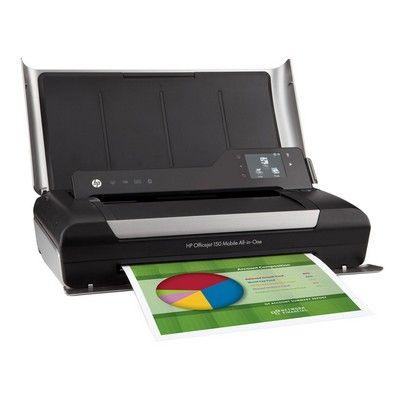 Officejet 150 Mobile All In One Inkjet Printer Copy Print Scan Hp Officejet Mobile Printer Printer