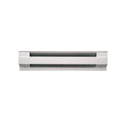 Cadet Manufacturing 09954 240 Volt White Baseboard Hardwire Electric Zone Heater 1000 Watt 48 Inch White Baseboards Baseboard Heater Baseboards