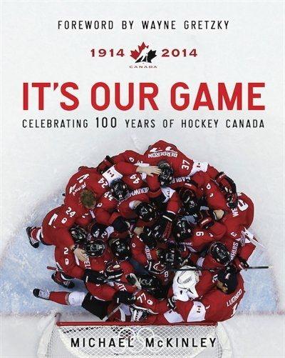 For the proud Canadian on your list - this book celebrates 100 years of Hockey Canada.