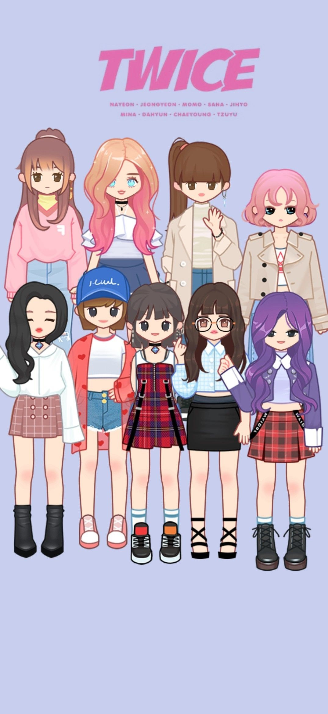 Twice wallpaper in 2020 Anime, Character, Wallpaper