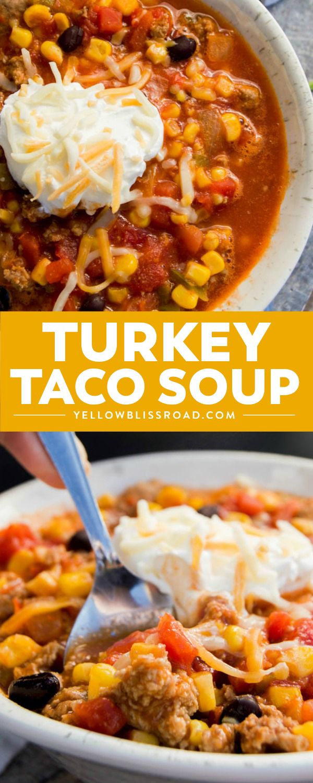 Photo of Turkey Taco Soup