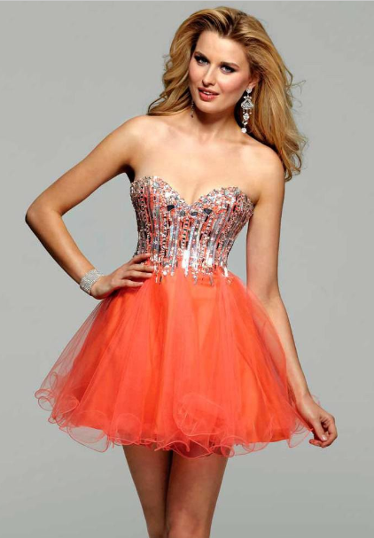Short Poofy Prom Dresses - Dress Xy