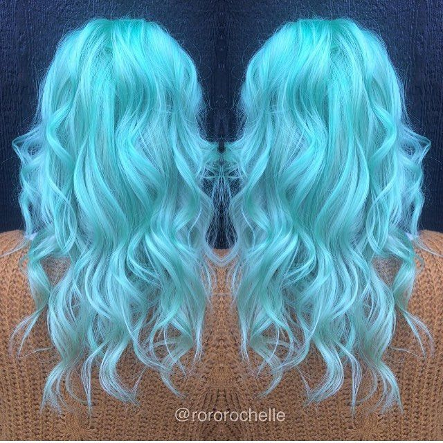 Seafoam Dream Hair Pinterest Cobalt Blue Cobalt And