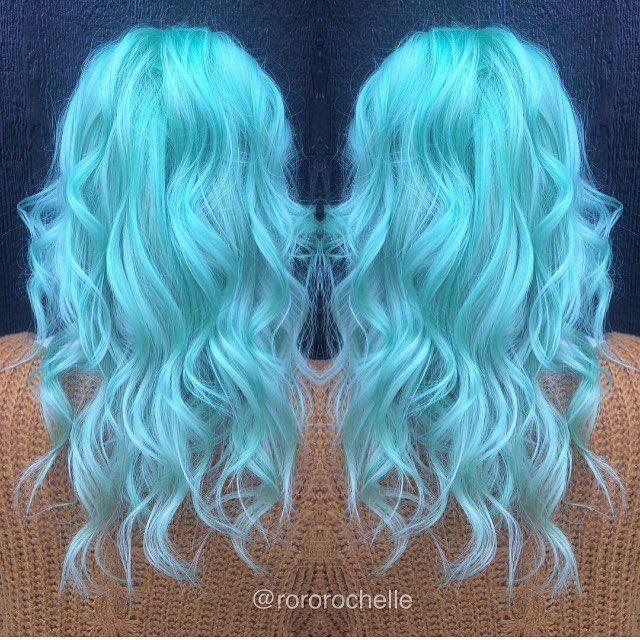 seafoam dream hair