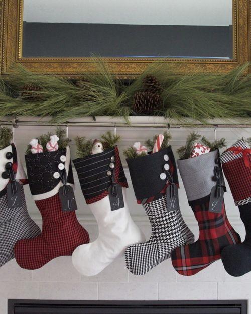 50 Beautiful Christmas Stocking Ideas And Inspirations Stocking