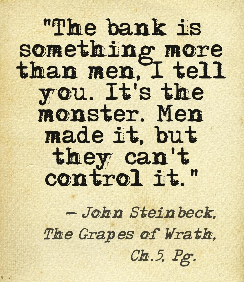 Grapes Of Wrath Quotes This Quote Courtesy Of Pinstamatic Httppinstamatic