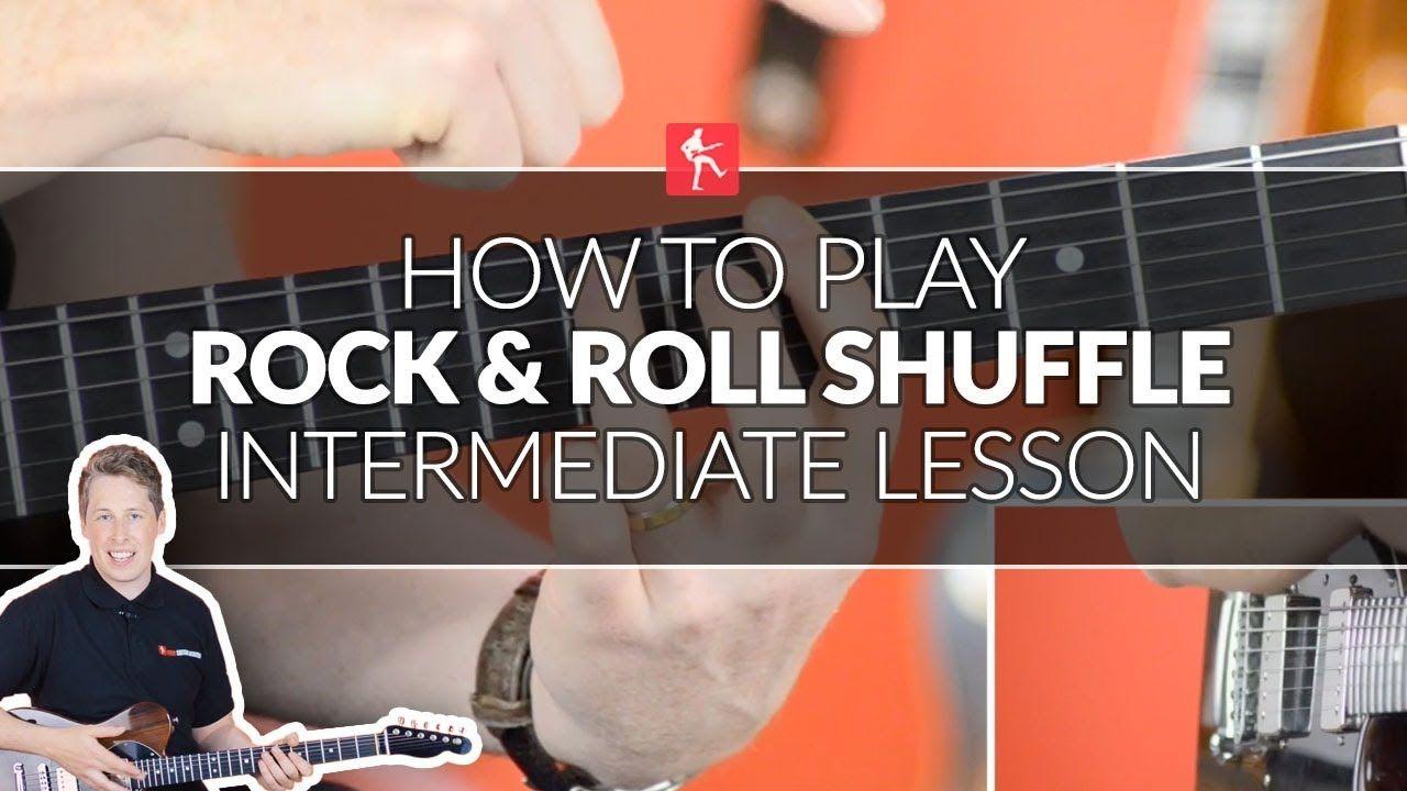 How to play a rock roll shuffle intermediate guitar
