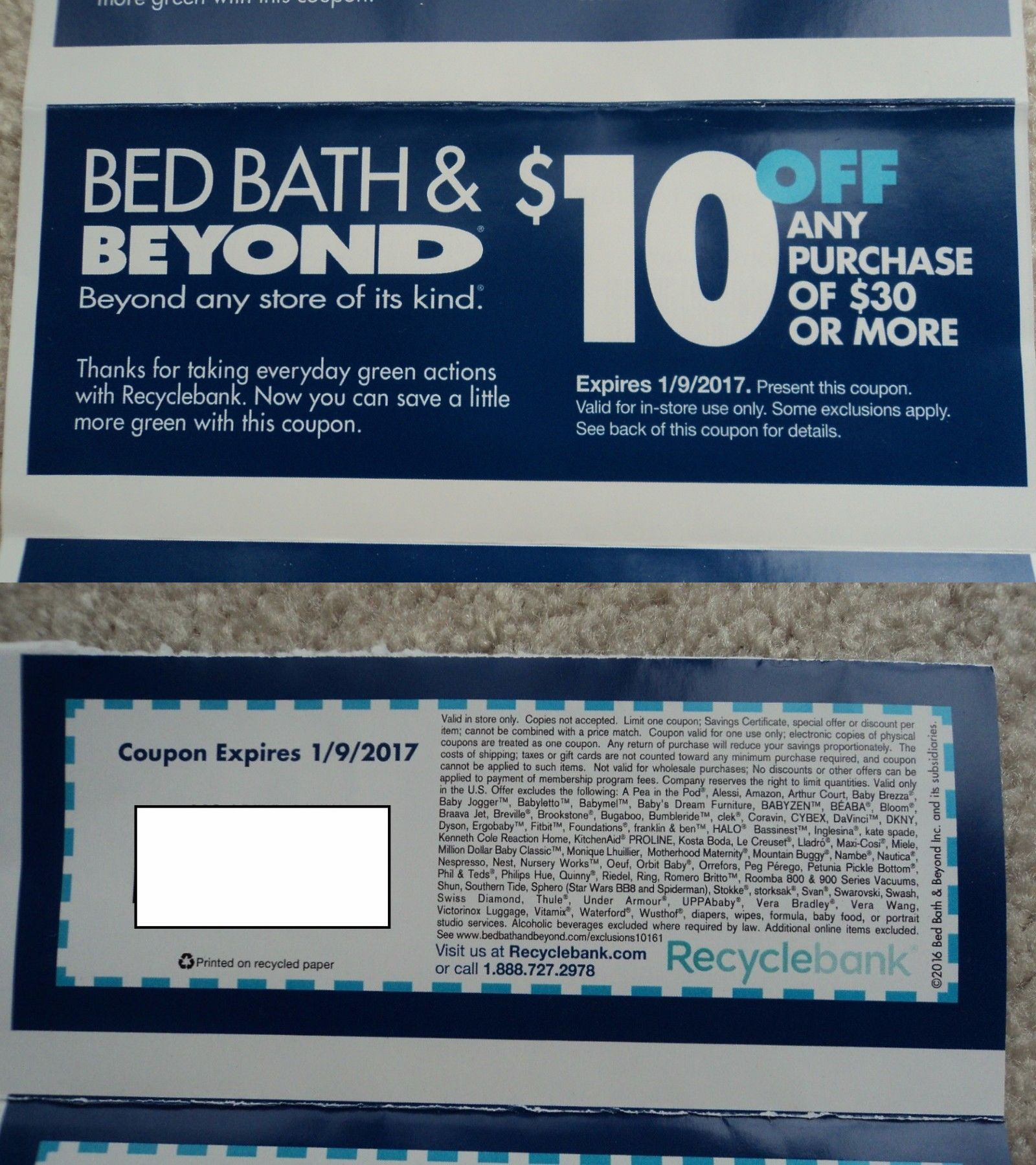 Coupons Bed Bath And Beyond Coupons f More In