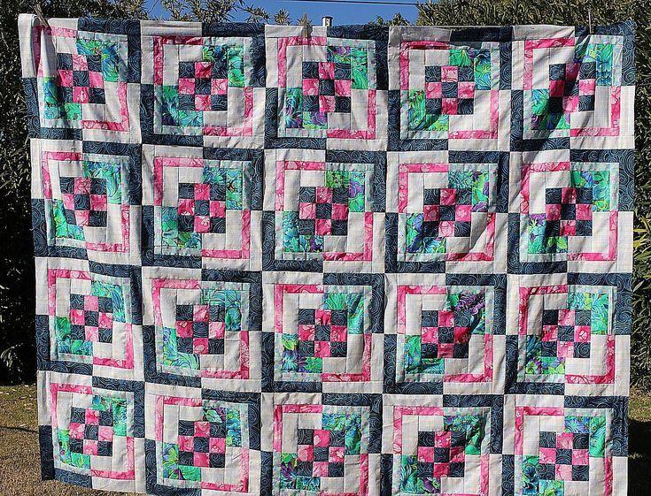 Resultado de imagem para Nine Patch Bento Box Quilt