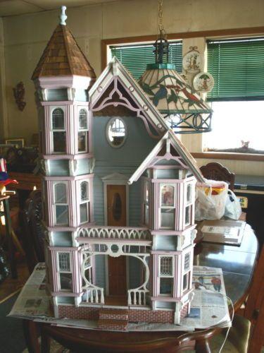 Vintage Dollhouse Finished San Franciscan Dura Craft