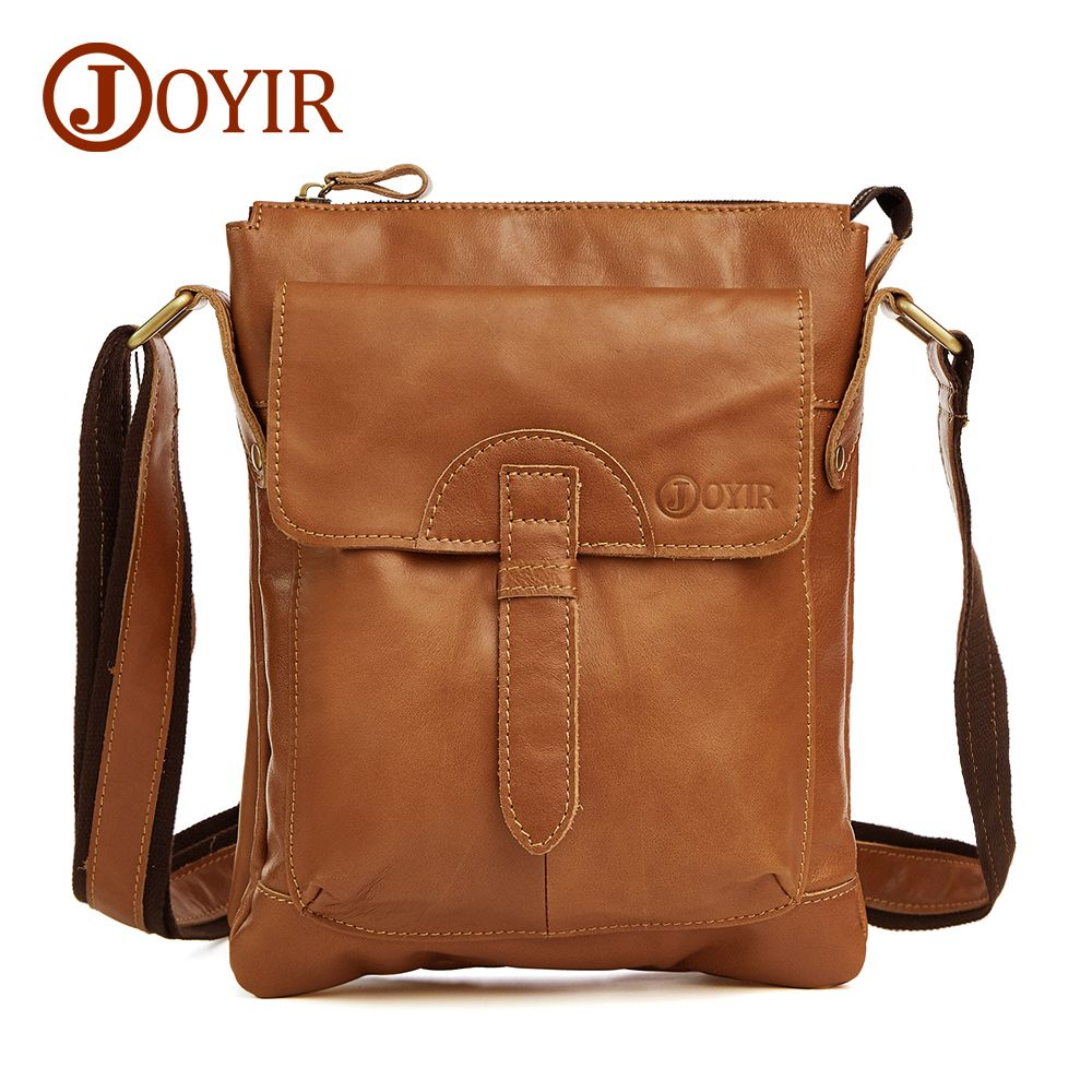 Designer 100% Genuine Leather Bag Cowhide Shoulder Men Bags Luxury Leather  Messenger Crossbody bags Brown cb3a5c9458927
