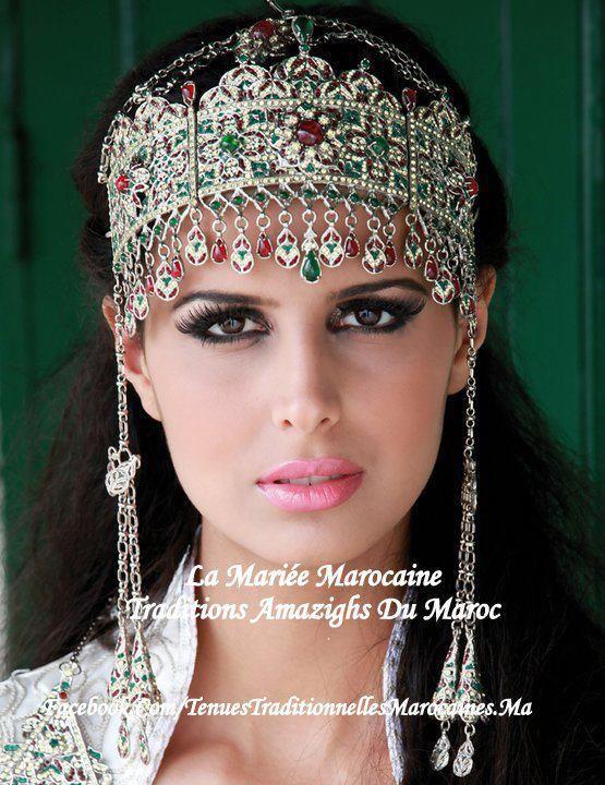 Amazigh Head Jewelryjewleryethnic