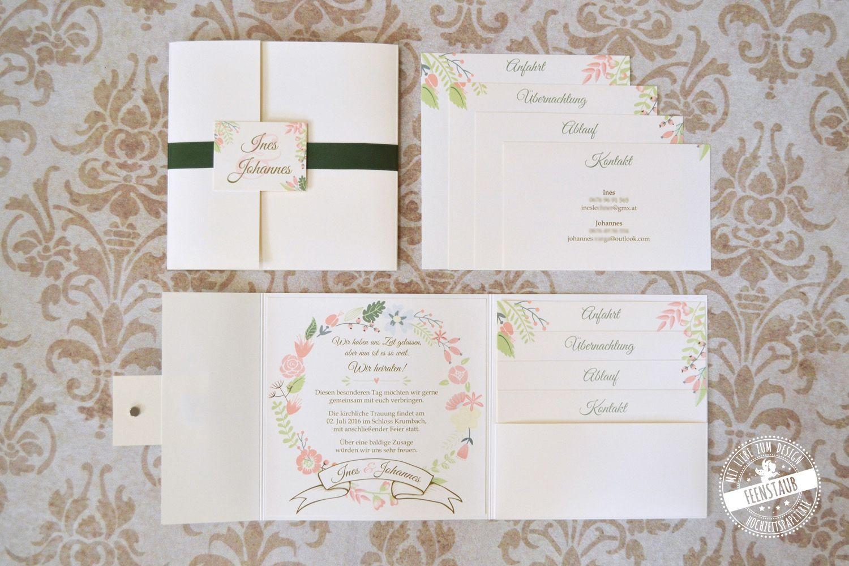 Hochzeitseinladungen Von Feenstaub Hochzeitseinladung Einladungen Hochzeitsmesse